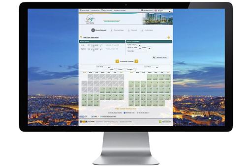 Online μηχανή κρατήσεων για Ξενοδοχεία